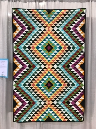Kilim Quilt by Sarah Schraw. Inspired by kilim rugs
