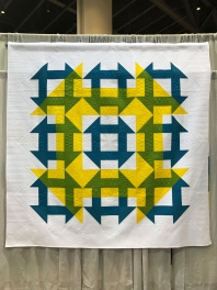 Blellow by Jessie Womble, quilted by Teresa Silva