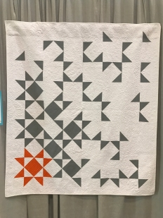 One of the MQG's 2016 quilts of the month. State of Being by Cheryl Brickey